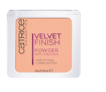 velvet finish powder