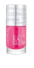 glossy nail glow